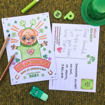 St. Patrick's Day Postcards 2021 - Kooley Design