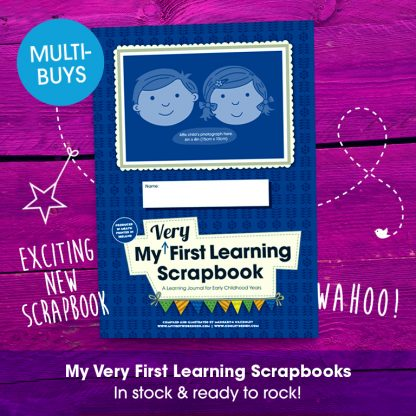 my very first learning scrapbook